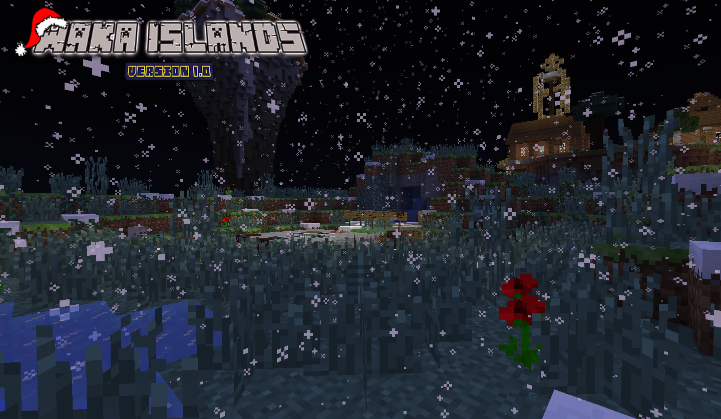 ad152b15fc1b1e863855234298518219 Waka Islands (Christmas) Map for Minecraft [1.7.2/1.7.10/1.8]
