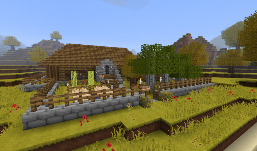 Good Morning Craft Resource Pack 1.8