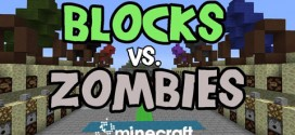 Blocks vs Zombies Map for Minecraft 1.6.2