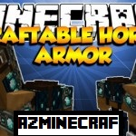 Craftable Horse Armor Mod for Minecraft 1.6.4/1.6.2