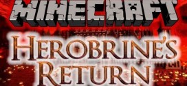Herobrine's Return Adventure Map for Minecraft 1.6.2
