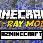 X-Ray Mod with Fly for Minecraft 1.6.4/1.6.2/1.5.2
