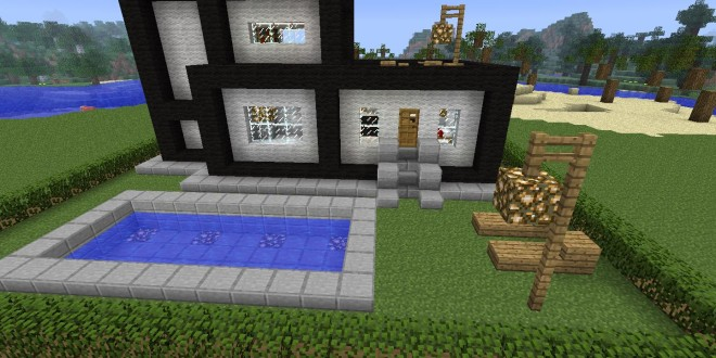 A Modern House Map for Minecraft 181710172164