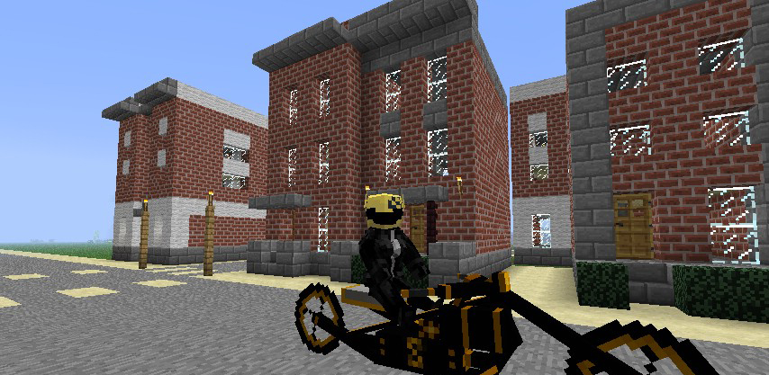 Animal Bikes Mod 1.7.2 Steam Bikes Mod for Minecraft