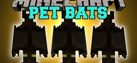 Pet Bat Mod for Minecraft [1.11.2/1.10.2/1.8.8/1.7.10]