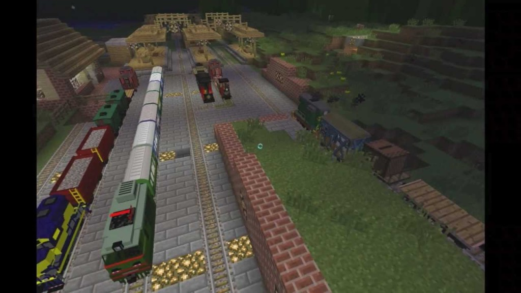 how to install train craft 1.7.10