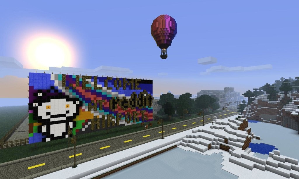 Airport1 1024x612 Airport for Minecraft 1.7.4/1.7.2/1.6.4/1.5.2