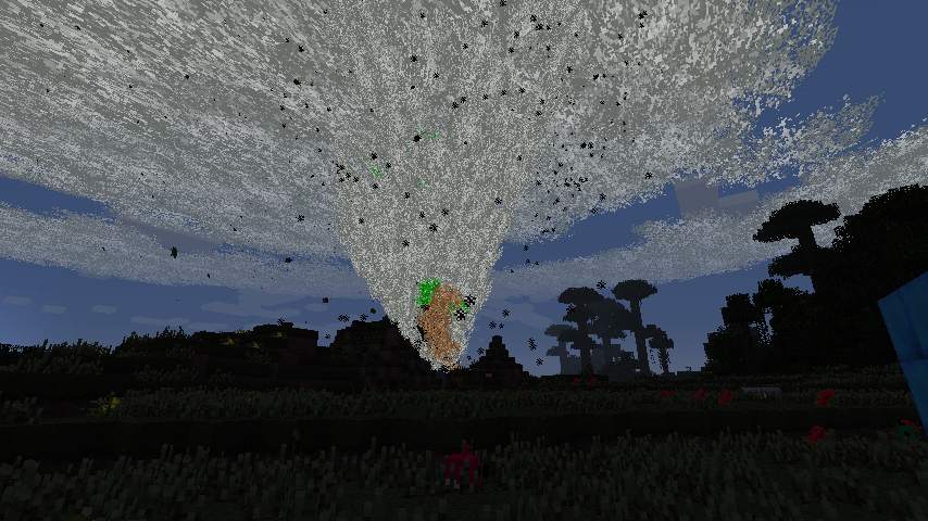 Weather & Tornadoes Mod storm