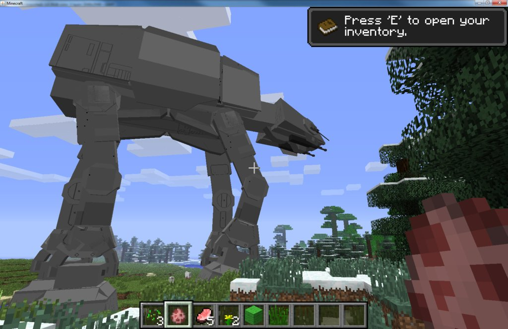Minecraft StarWars Mod Captured Images 13 StarWars,Mod,2
