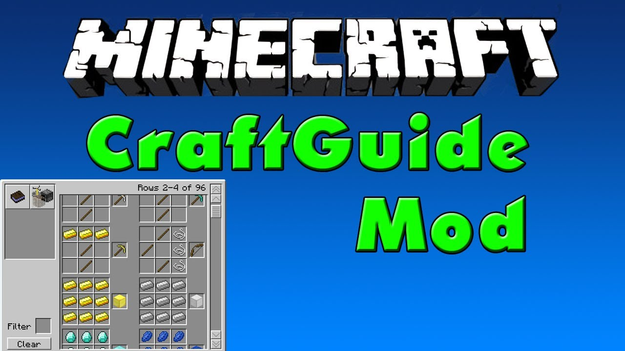 Crafting Book Minecraft