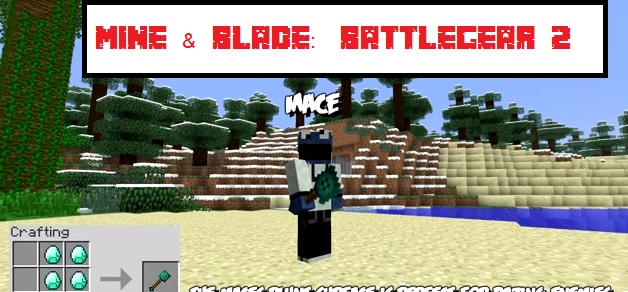 mine blade: battlegear 2 1.7.10/1.7.2 моды для minecraft #4