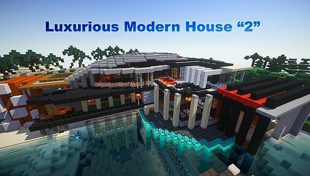 luxurious modern house 2 map mc 1 8 9 1 8 1