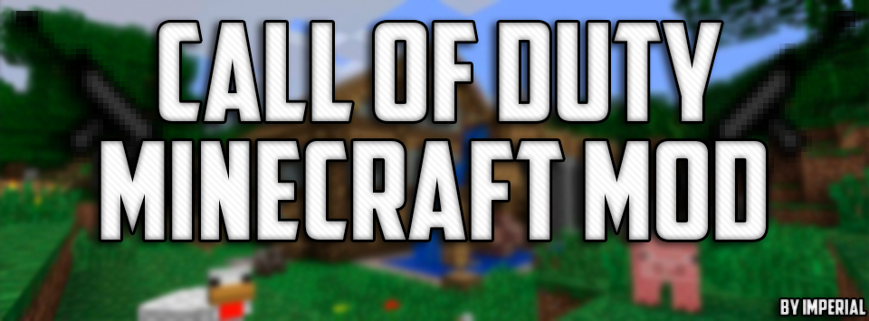 Call Of Duty Mod For Minecraft