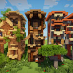 Minecraft-Letter-Frame-Houses-Map-18