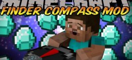 Finder Compass Mod for MC (1.11.2/1.10.2/1.9.4/1.9/1.8)