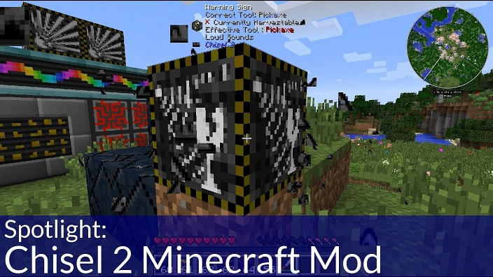 how to use the chisel mod in minecraft
