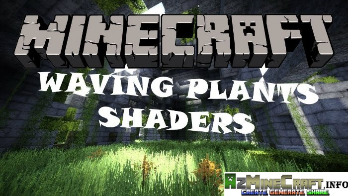 Waving Plants Shaders Mod for Minecraft