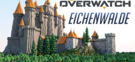 Overwatch Eichenwalde Castle Map for Minecraft