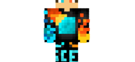 Blazing Ice Skin for Minecraft
