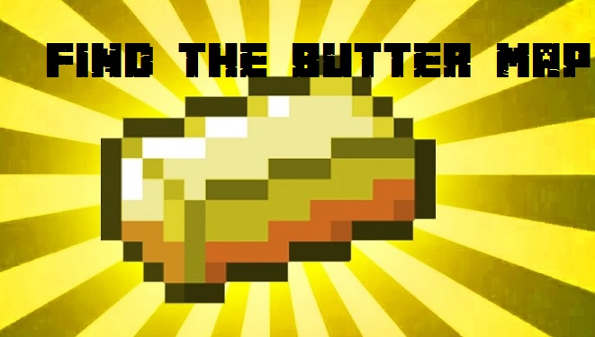 Find-the-Butter-Map-for-Minecraft-logo