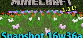 Minecraft 1.11 Snapshot 16w36a – Server and Client