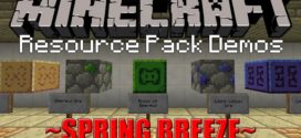Spring Breeze Resource Pack for Minecraft [1.11.2/1.10.2]