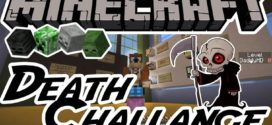 Death Challenge Map 1.11.2 – Puzzle Maps Minecraft