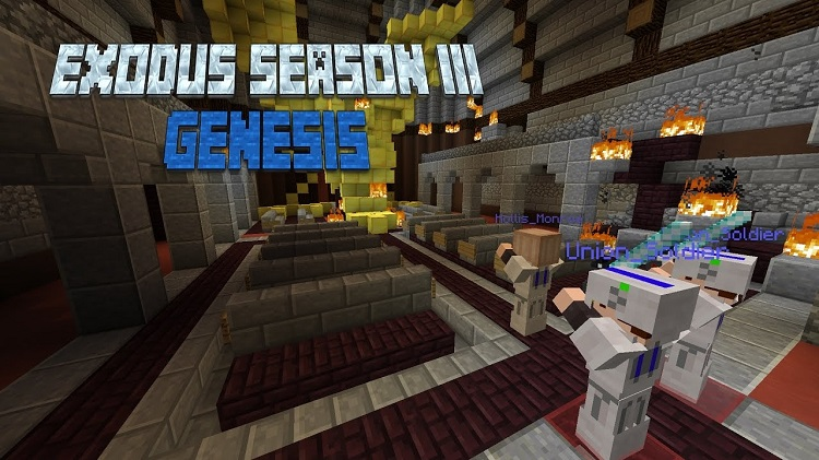 Exodus-Season-3-Genesis-Map-for-Minecraft-Logo