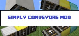 Simply Conveyors Mod [1.11.2/1.10.2/1.7.10] – High speed lines