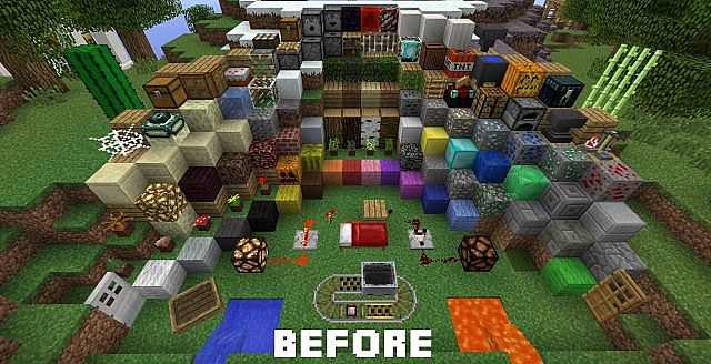 Smoother Than Default Texture Pack For Minecraft 1 5 2