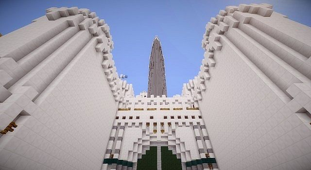 Minas tirith map for minecraft file-minecraft. Com.