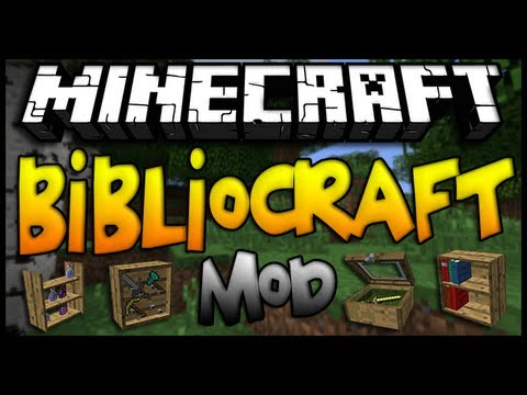 BiblioCraft Mod Is Just A That Adds 8 New Varieties Of Unique Storage Blocks To Show Couple Goods Are Various First All We Could Produce