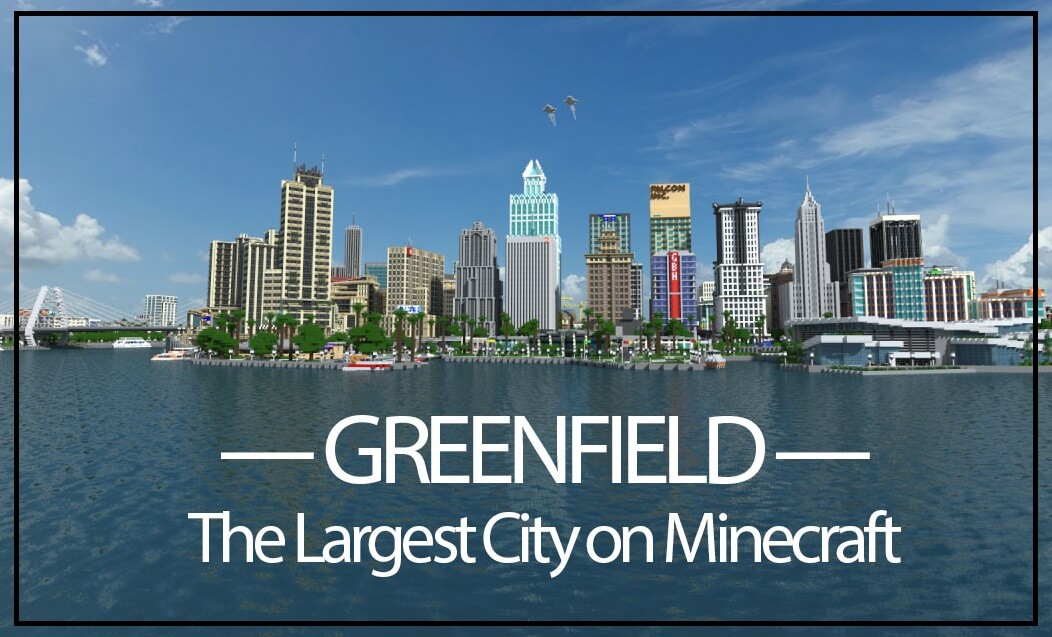 Map 111 2.Greenfield Map For Minecraft 1 12 1 1 11 2 1 7 10 Azminecraft Info