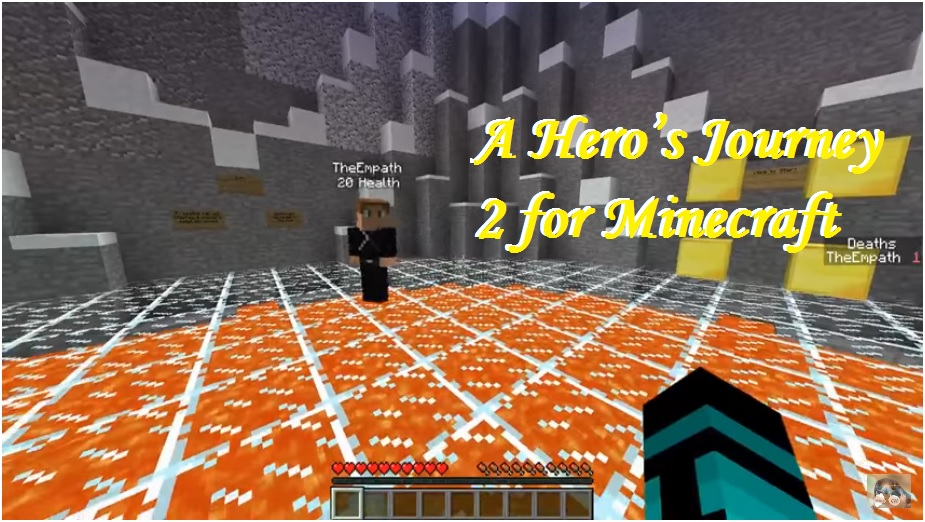 A Hero\'s Journey 2 – Elements of the World Map for Minecraft ...