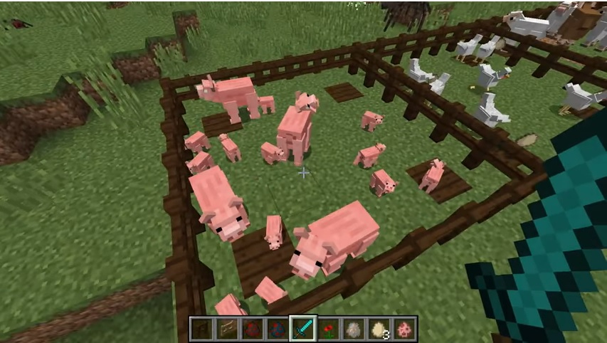 Better Animal Models Mod for Minecraft - Mobs Look Like